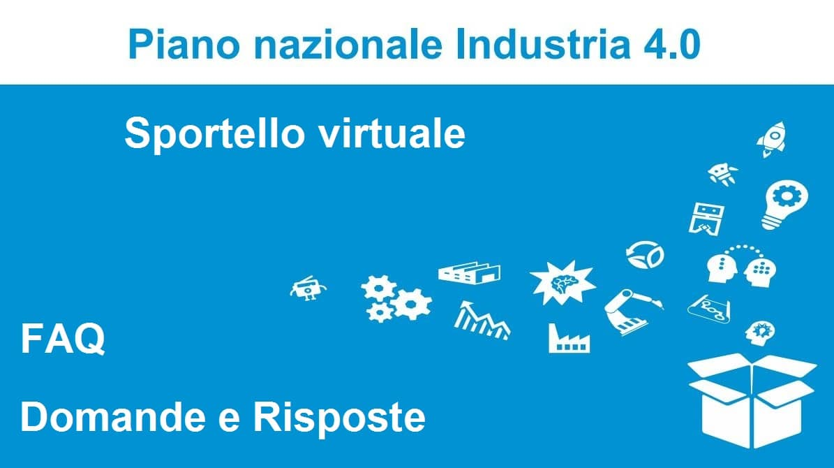 sportello virtuale industria 4.0