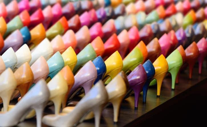 Scarpe di mille colori - Foto Dassault Systemes