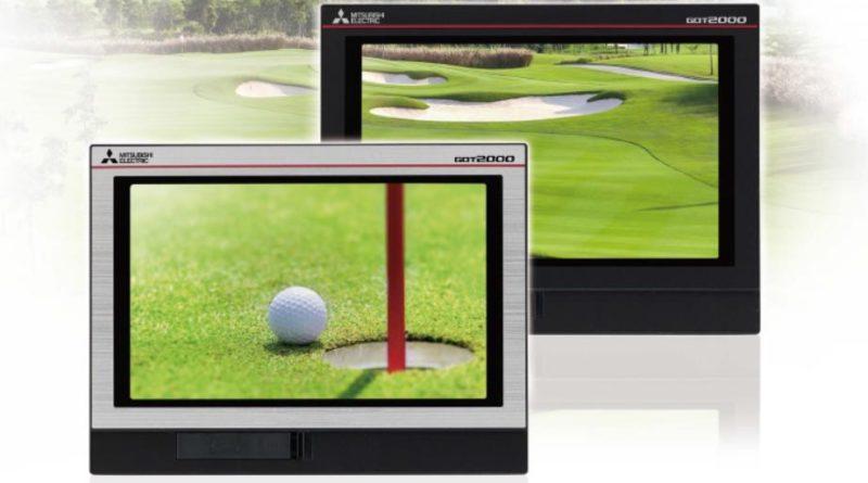 pannelli widescreen GOT2000 di Mitsubishi Electric
