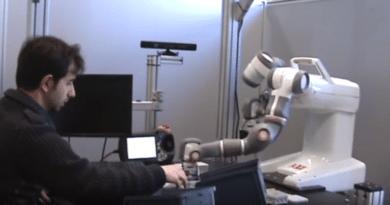 Il robot collabotativo YuMi