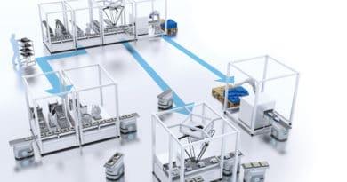Le soluzioni Omron per la produzione flessibile ad Hannover Messe