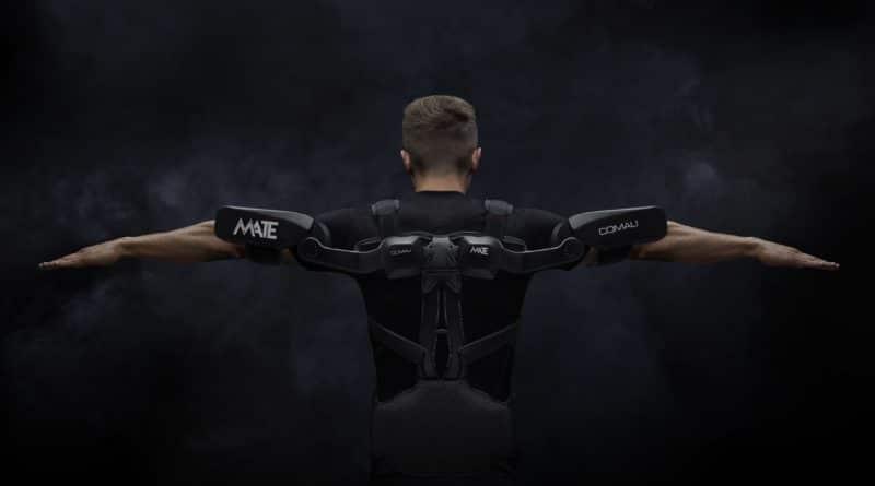 Ergononomia: ecco Mate, l'esoscheletro indossabile di Comau