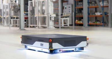 Da Sew-Eurodrive un veicolo di trasporto mobile per carichi fino a 1.500 chili