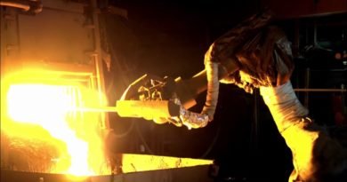 La robotica è il futuro della siderurgia