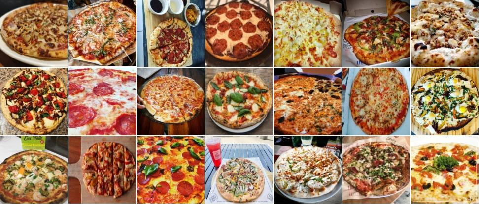 Set pizze reali