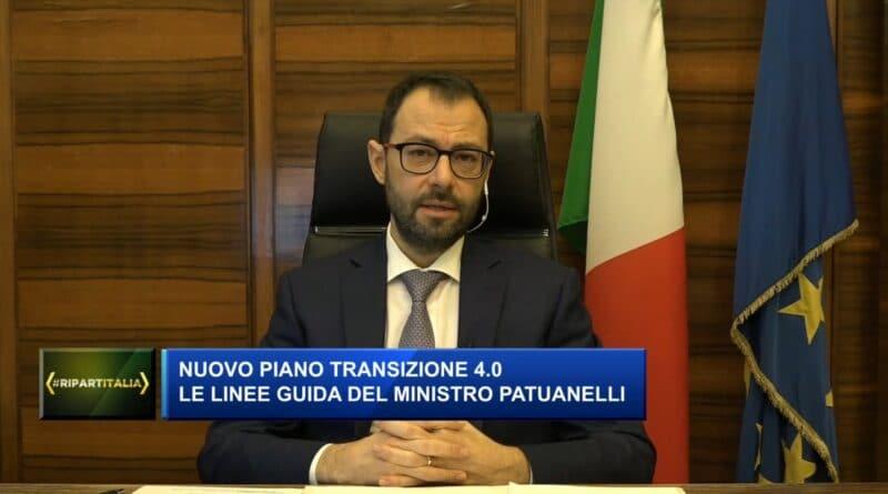 Stefano Patuanelli Transizione 4.0