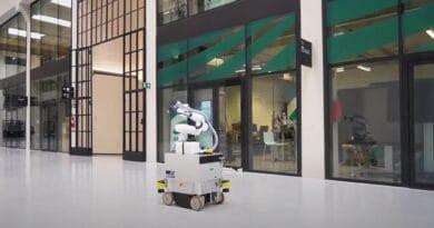 """Balto, il robot """"made in Bolzano"""" che sanifica gli ambienti in base al modello dell'edificio"""